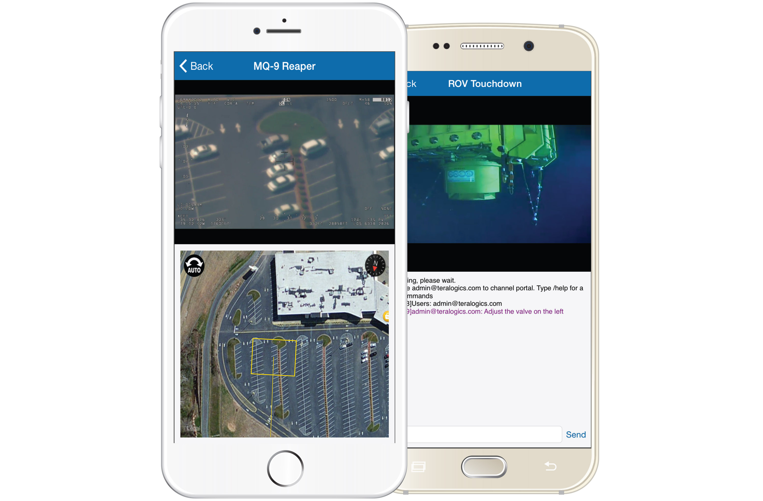 UV/Lens is a mobile (iOS and Android) application designed to receive and stream real-time video from the Unified Video® streaming application.